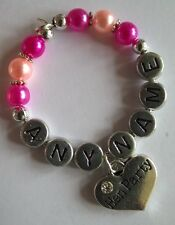 """Personalised """"Hen Party"""" Wine Glass Charms, Handmade for your Celebration"""