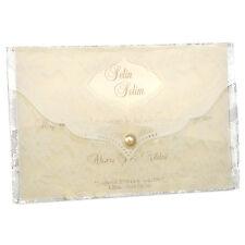 """Einladungskarte Hochzeit """"Rebecca"""" Hochzeitseinladung creme Spitze mit Umschlag"""