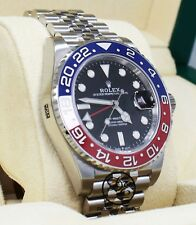 Rolex GMT Master II Pepsi 126710 BLRO Jubilee Ceramic Bezel Watch B/P *UNWORN*