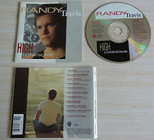 CD album HIGH LONESOME RANDY TRAVIS 10 TITRES 1991 COUNTRY