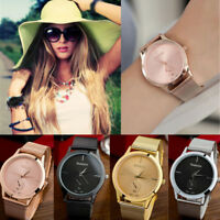 Women's fashion Bracelet Stainless Steel Ladies Analog Quartz Dress Wrist Watch