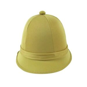 Deluxe Jungle Safari Helmet British Pith Hiking Sun Hat Adult Costume Accessory