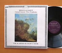 DSLO 505 Stamitz Clarinet Concerto Three Symphonies Christopher Hogwood NM/EX