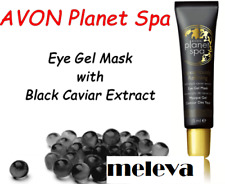 NEW AVON Planet Spa Eye Gel Mask with Black Caviar Extract Luxuriously Refining