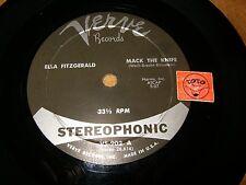 ELLA FITZGERALD - MACK THE KNIFE - COOL BREEZE - ( STEREO)  - LISTEN / JAZZ