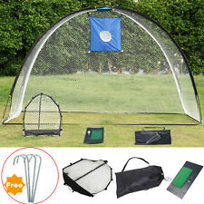 3 In 1 Golf Practice Set outdoor training Mat Driving Net Chipping Net and Bag