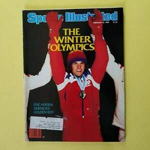 SPORTS ILLUSTRATED - FEBRUARY 25, 1980 - WINTER OLYMPICS - GREAT FOR AUTOGRAPHS