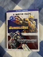 Bumblebee + Transformers 5-Movie Collection (Blu-ray, 2020, 7-Disc) Michael Bay