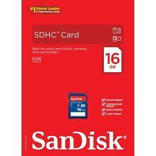 SanDisk SDHC 16 GB Class 4 - SDHC Card - (SDSDB-016G-B35)