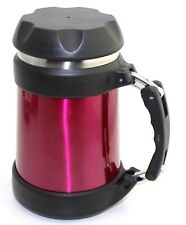 Brentwood Food Jar Double Wall Stainless Steel Vacuum Flask Food Thermos Red17oz