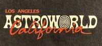 Travis Scott Astroworld Roadie Tour Crew Merch XL T-Shirt