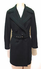 GIULIA VALLI Cappotto Donna Lana Cashmere Wool Woman Coat Sz.M - 44