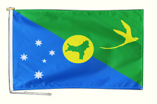 More details for christmas island australia flag with rope and toggle - various sizes