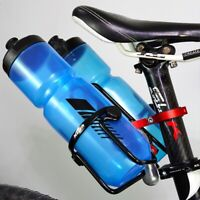 MZYRH Bicycle Double Water Bottle Cage Holder Mount Adapter Adjustable Com M3K9