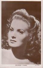 "MAUREEN O'HARA - Orig Vintage 3.5 ""x 5.5"" Collectors Picturegoer Postcard W222"