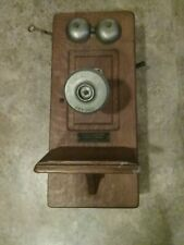 Antique Solid Wood Chicago Telephone