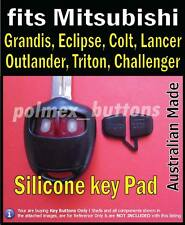 fits Mitsubishi Pajero Lancer Galant Grandis remote - Replacement key Buttons