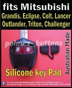 fits Mitsubishi Pajero Lancer Galant Grandis remote - Replacement key Buttons