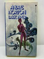 Dark Piper by Andre Norton (1968, Paperback) 1st Edition Ace SF 13797 Vintage