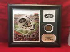 New York Jets Limited Photo And Bronze Coin Highland Mint NFL WS24