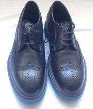 Paul Smith Men's Shoe Crispin Black Grand Brogues.