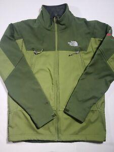 The North Face Summit Series Mens Jacket Sz Medium Windstopper Green NWOT