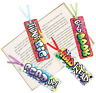 Pack of 12 - Graffiti Bookmarks - Teacher Reading Supplies Party Bag Fillers