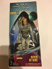 STAR TREK VOYAGER SEVEN OF NINE 7 OF 9 INCH FIGURE NEW SEALED DOLL