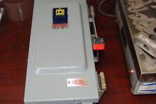 Square D Hu361A 30A Disconnect, 240/600V Nema 12 New