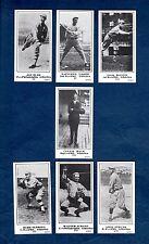 1916 The Sporting News PHILA. ATHLETICS/A's Team Set, M101-5 REPRINT~All 7 cards