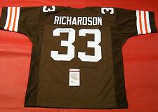 3d0d6e371 James Spence (JSA) Cleveland Browns NFL Autographed Jerseys for sale ...