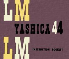 YASHICA LM 44 INSTRUCTION MANUAL FREE SHIP