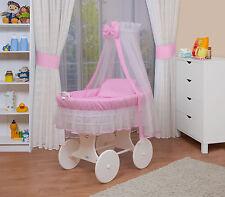 WALDIN bébé Chariot enfants XXL ,couchette bébé NEUF Rose