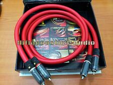 1M Gaofei hifi GF-AUOCC10 Japan OCC Copper RCA Interconnects Analog audio cable