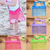 Beach Mesh Bag Pouch Kid's Children Fun Toys Sea Shell Storage Tote Handbag Bag