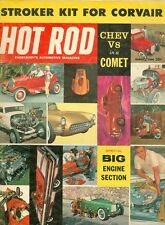 1960 Hot Rod Magazine: Big Engine Section/Chev V8 in a Comet/Corvair Stoker Kit