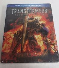 Transformers: Age of Extinction Blu-Ray DVD Exclusive Steelbook NEW SEALED