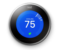 Nest Smarthome Learning Thermostat Programmable 3rd Generation WiFi Smart Phone