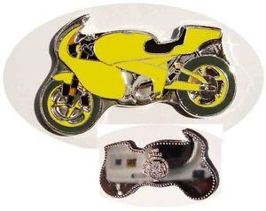 Unusual 2007 Somalia color $1 Yellow Motorcycle-shaped