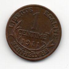 France - Frankrij - 1 Centime 1911