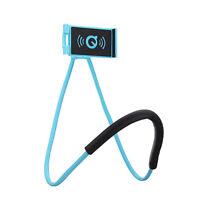 Neck Phone Holder Universal Smartphone Tablet Mount Flexible Lazy Bracket Stand