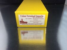 BRASS HO UNION TERMINAL NORFOLK & WESTERN 10-6 SLEEPER BLUE FACTORY PAINTED RARE