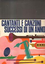 CANTANTI E CANZONI SUCCESSI DI UN ANNO - variuos artists LP
