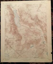 USGS Topographic Map 1911 Data HAWTHORNE QUADRANGLE, CALIFORNIA-NEVADA