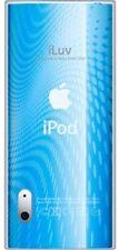 ILUV TPU CASE WAVE PATTERN IPOD NANO 5G BLUE ICC309-BLU
