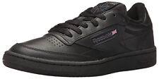 Reebok AR0454 : Men's Club C 85 Fashion Sneaker, Int-Black/Charcoal