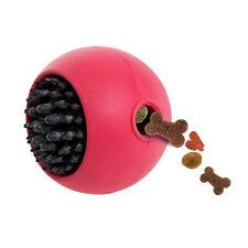 Karlie Boomer Vollgummi-snackball - Pink/schwarz