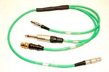 """TIME CODE CABLE INPUT/OUTPUT LEMO 5 PIN MALE IN /OUT BNC, 1/4"""" OUT LEMO IN/OUT"""