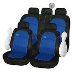 Housses de Protection Siège Bleu Noir 1/2 1/3 2/3 pour Fiat Panda - 177