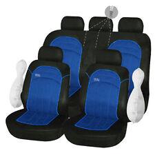 Housses de Protection Siège Bleu Noir 1/2 1/3 2/3 pour Peugeot 307 - 177